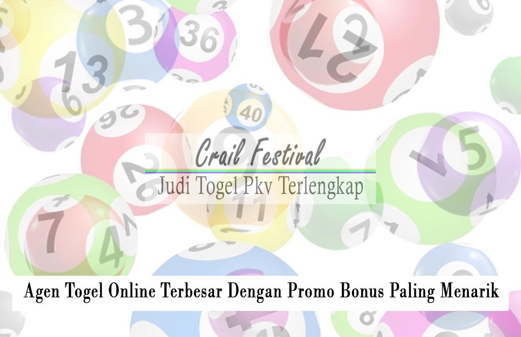 Agen Togel Online Terbesar Dengan Promo Bonus Paling Menarik